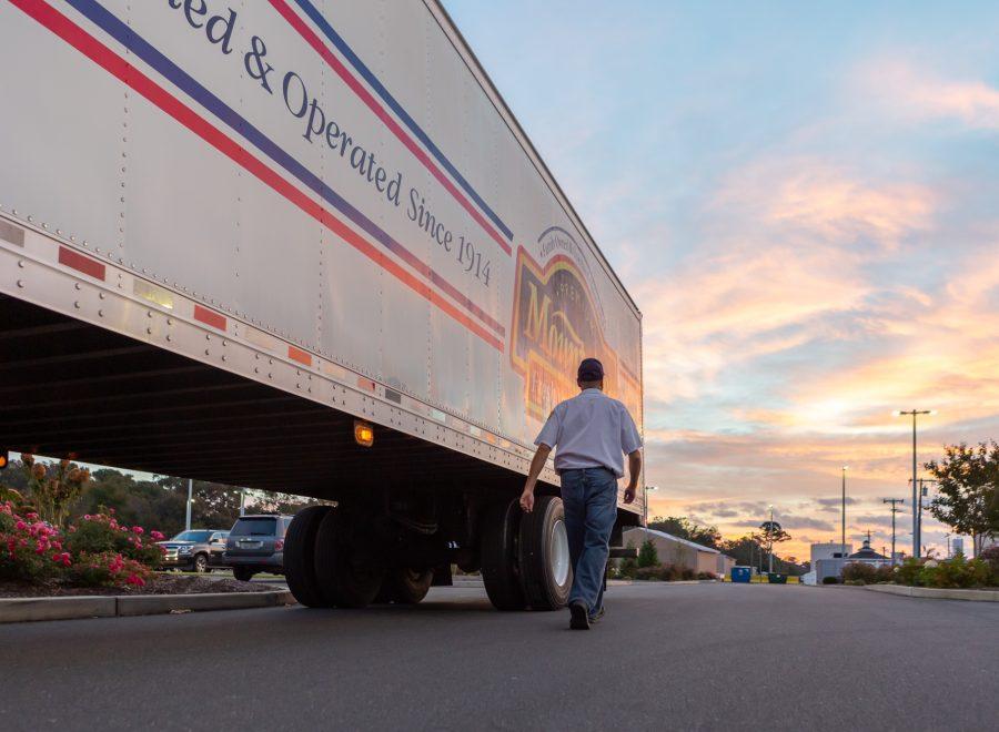 Mountaire Farms truck