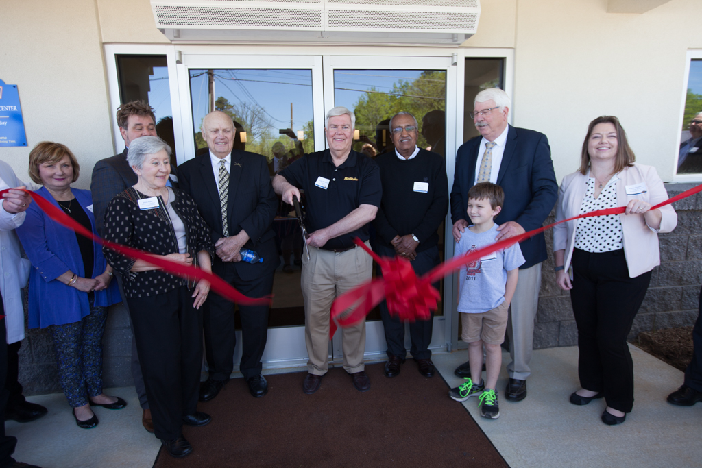 The new Health and Wellness Center ribbon cutting took place alongside the grand opening of our fourth processing plant, located in Siler City, NC.