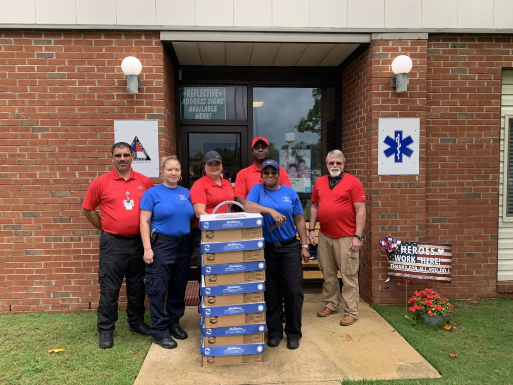 Scotland County EMS donation