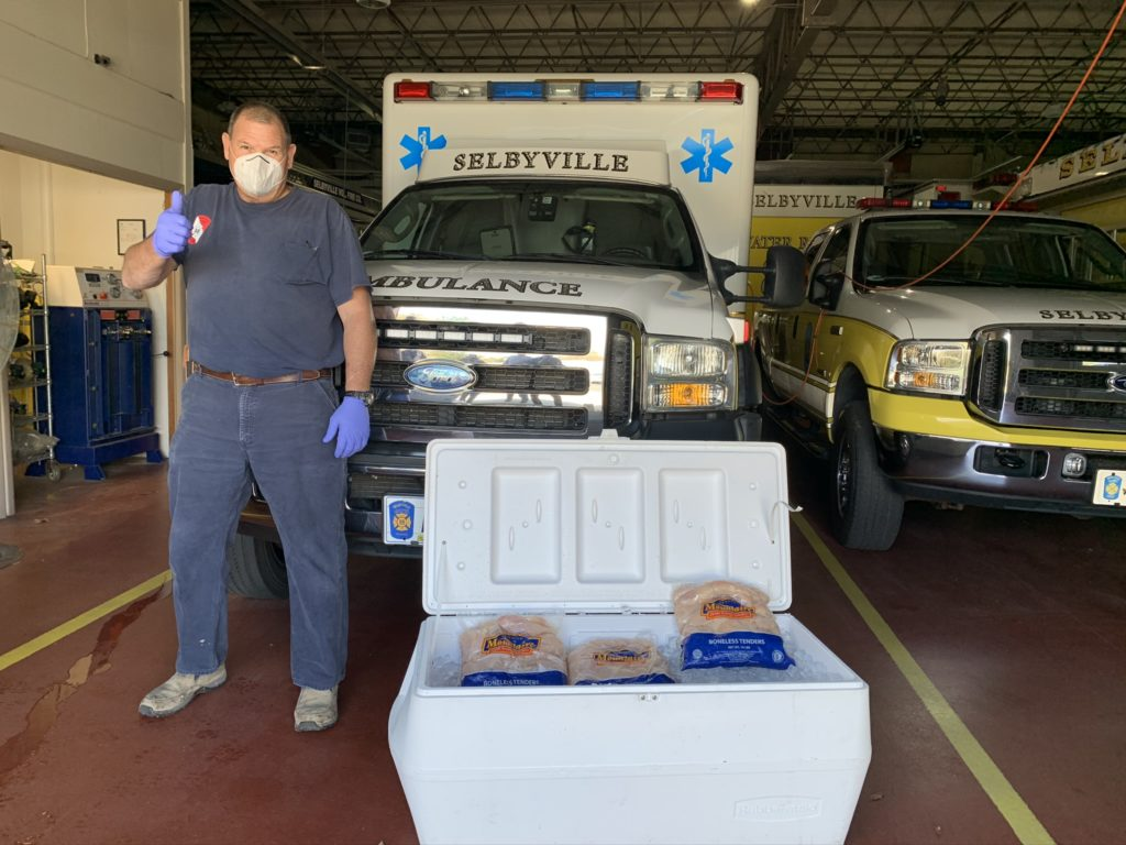 Selbyville Fire EMS donation