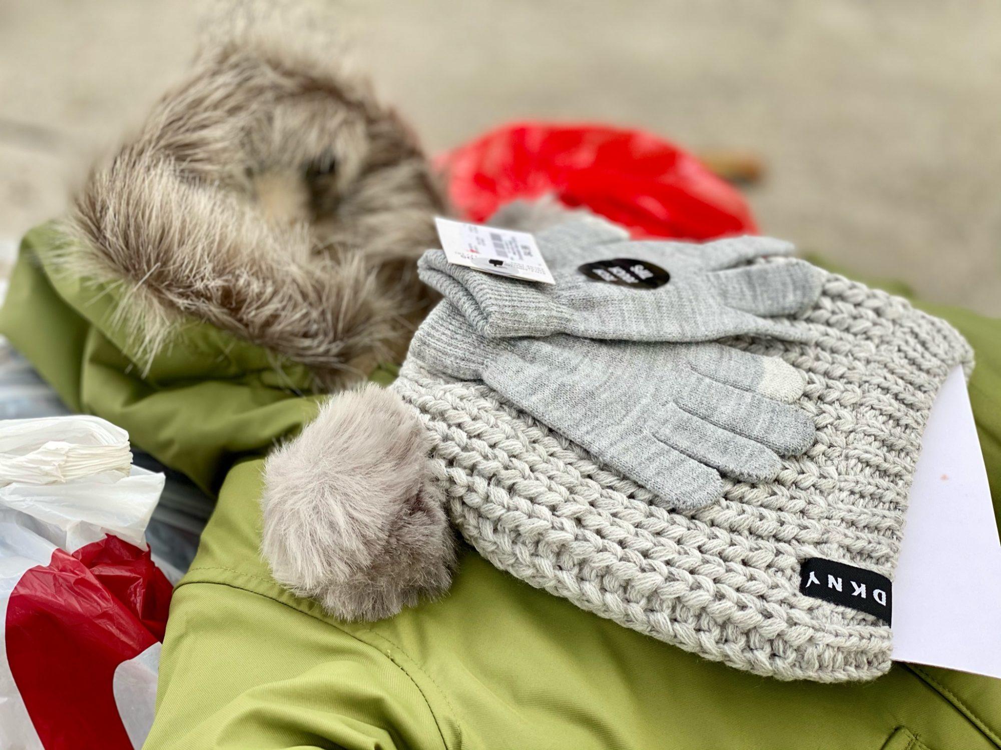 One coat, two coats, red coat, blue coat: providing 150 coats for kids this winter