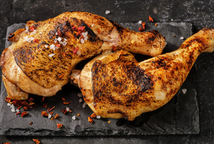 Air Fryer Roasted Chicken